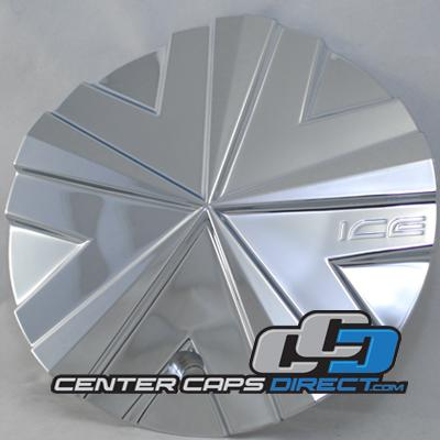 CAP M-213 IM895 Ice Metal Wheels Center Caps