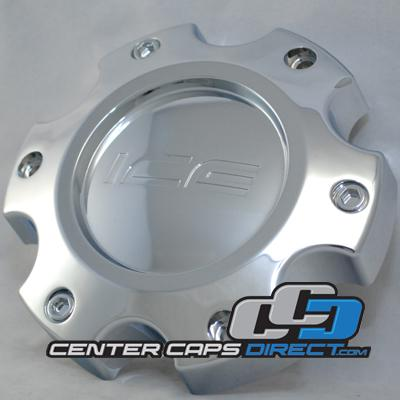 CAP M-351 IM898 6x5.5 only Ice Metal Wheels Center Caps
