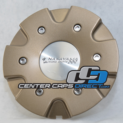 CAP-048 Nakayama Racing Sports Wheels Center Caps