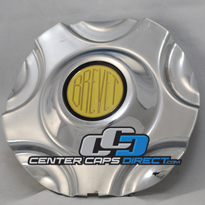 C0P14D A108 Brevet Wheels Center Caps