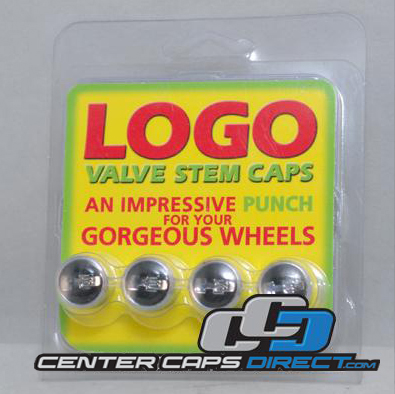 Hummer H3 Logo Black Non-Locking Valve Stem Covers Includes 4 Non-Locking Valve Stem Covers