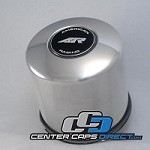 1425001SS American Racing Push through Center cap for 5X5.5 (5X139.7mm) 6X5.5 (6X139.7mm) American Racing Wheels Center Caps