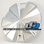 1001903 Hot Wheels by KMC Center Cap [manufacturer] chrome center cap