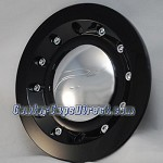 212-100B Arelli 813 Geneva Replacement Center Cap Arelli Wheels Center Caps [manufacturer] Black with Chrome center cap