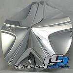 887L175 887-CAP Ice Metal Wheels Center Caps [manufacturer] chrome center cap