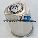 1515001LS (Extra tall 8 Lug Push Thru Cap) American Racing Center Cap
