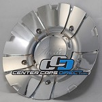 250-100C Arelli Wheels Center Caps [manufacturer] chrome center cap
