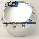 905K131-2 S504-44 1008905 Hot Wheels by KMC Wheels Center Cap [manufacturer] chrome with no logo center cap
