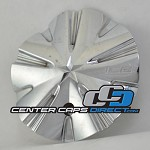 891L155 Ice Metal Wheels Center Cap Display Model [manufacturer] chrome center cap