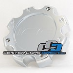 CAP M-215-1 Ice Metal Center Cap [manufacturer] chrome center cap