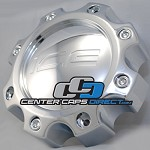 CAP M-352 8 LUG ONLY Ice Metal Wheels Center Caps [manufacturer] chrome center cap