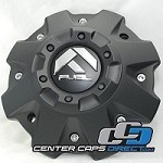 Fuel Offroad Center Cap 1001-58 1001-63B CAPM-542BK04-2 for Hostage, Octane, Boost, Throttle Fuel Offroad Wheels Center Caps