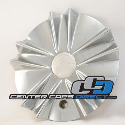 1 Limited Wheels Chrome Custom Wheel Center Cap C940-4 with SCREW
