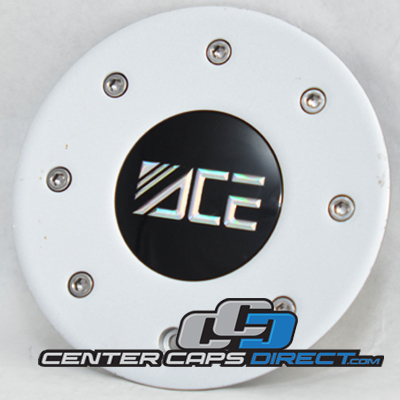 Ace Center Cap A143 Silver Finish- Display Model
