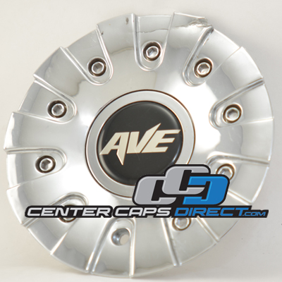 2 piece center cap outside part #: C004001CAP and inside part#: C0040-1 or 523102-UP Ave Wheels Center Cap Display Model