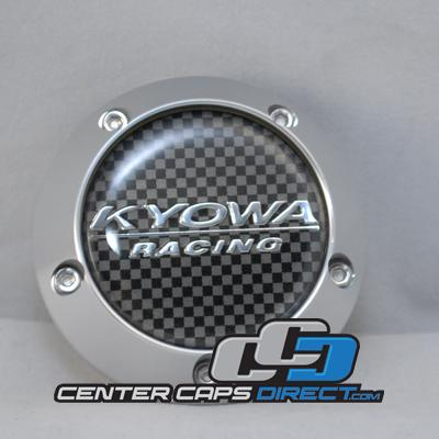 C-099 KR210  656 (Trek 10) Carbon Logo Kyowa Wheels Center Caps