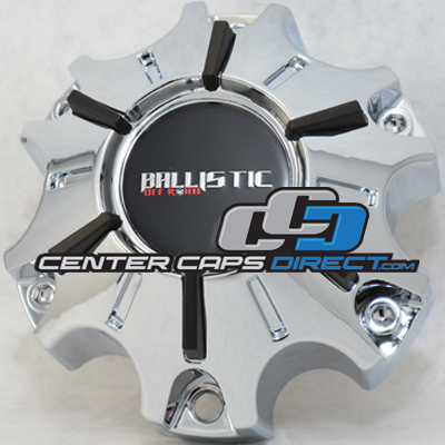 WX-09-CAP and or WX-04-C WX-04-135/139.7-6H Ballistic Wheels Center Caps
