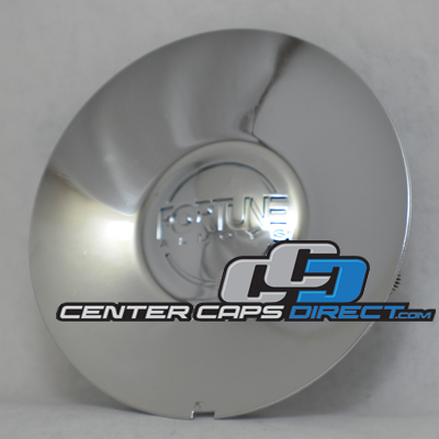 MCD8146NA01 Fortune Wheels Center Cap Chrome with Fortune Wheels Logo Display Model