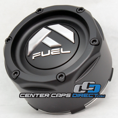 1003-49 Fuel Offroad Wheels Center Cap Flat Black