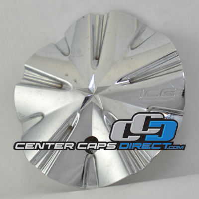 891L155 Ice Metal Wheels Center Cap Display Model