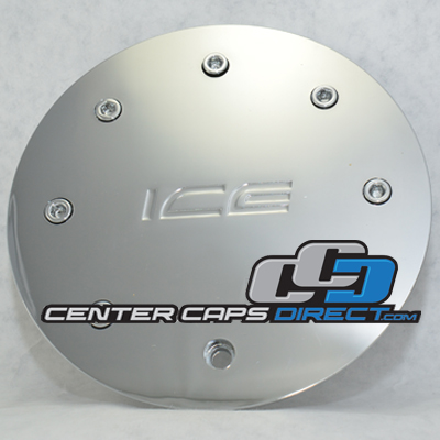 888l175 Ice Metal Wheels Center Cap Display Model