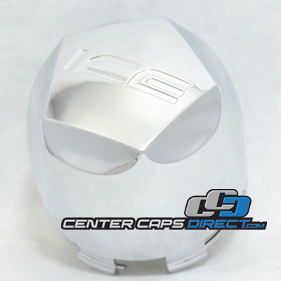 800CAP-B1  F107-14 Ice Metal Wheels Center Caps