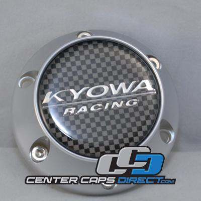 KR 626  carbon Kyowa Wheels Center Caps