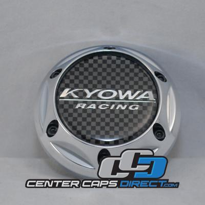 KR628 (EVOLVE)  Kyowa Wheels Center Caps