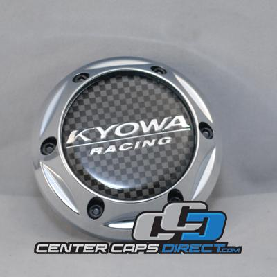 KR628 (EVOLVE)  Carbon  Kyowa Wheels Center Caps