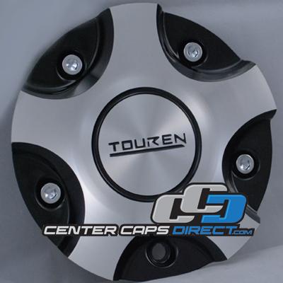 Touren Wheels MC3130N101 C103130C LG0810-53 Chrome Center Cap
