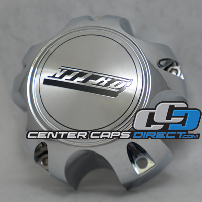 E-136-5S Nitro Wheels Center Cap Display Model