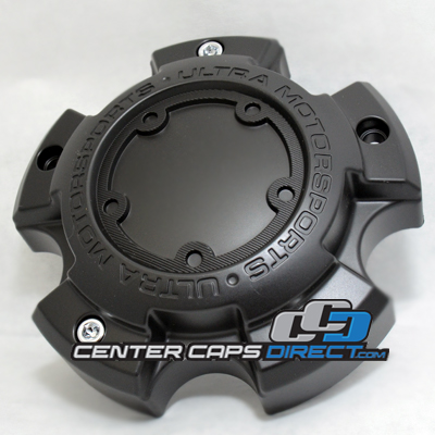 881S12 and or 881C11 and 89-9598CSET 89-9598BSET Ultra Motorsports Wheels Center Cap Display Model