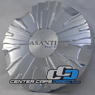 Asanti Wheels MS CAP-L095 ZEBRA Chrome Wheel Center Cap