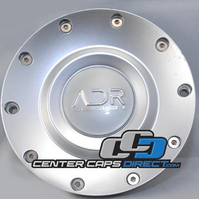 ADR Design Wheel Silver Custom Wheel Center Cap Caps