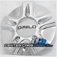 Delta Force  NCD0003  MCD0867YA02 Diablo Wheels Center Caps