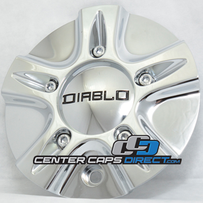 Delta Force CD0010 MCD0867YA01 Diablo Wheels Center Cap Display Model