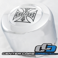1001-31 TDK-071030A Jesse James Wheels Center Caps Replacement with No Logo