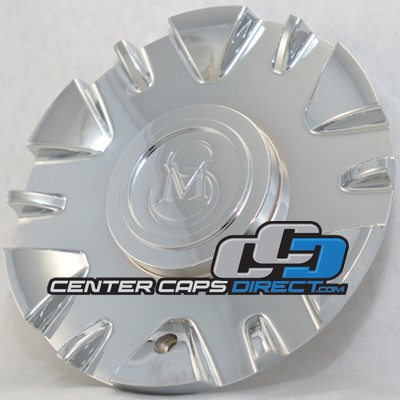 Titan N80 61932610F-1 Xoni Wheels Center Caps with CM logo
