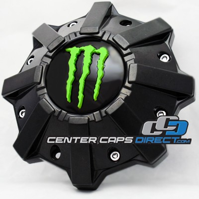 6056B212 S1209-08 and 6056K82 S1105-06-59 Monster Energy Wheels Center Cap Display Model